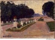 Marquet Albert Avenue in the Luxembourg Gardens  - Hermitage